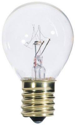 40 watt 120 volt S11 Intermediate E17 Base Clear Incandescent Westinghouse Light (120 Volt S11 Intermediate Base)