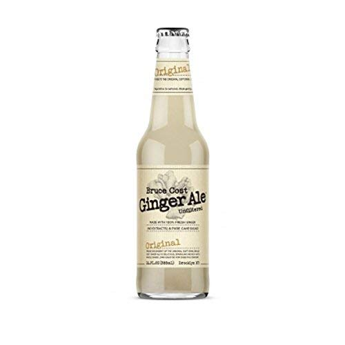 (Bruce Cost Fresh Ginger Ale Original Ginger - Case of)