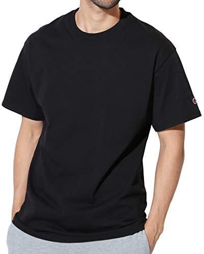 Authentic ベーシックTシャツ メンズ 半袖 コットン 無地 XL グレー