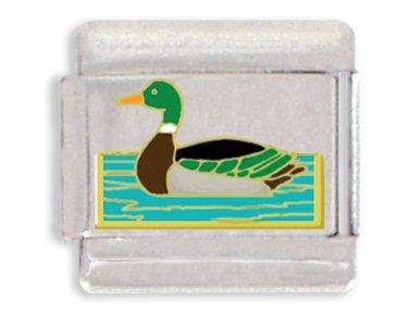 Duck Italian Charm Bracelet Link