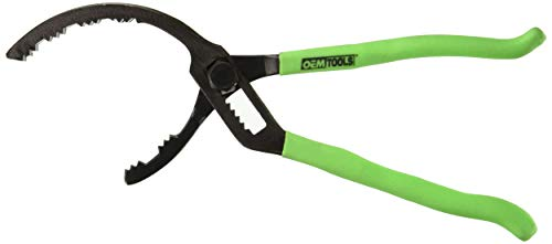 OEMTOOLS Black Green 25324 14 Inch Adjustable Oil Filter Pliers