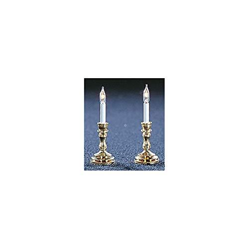 Cir-Kit Concepts Dollhouse Miniature : Candlesticks (pr)