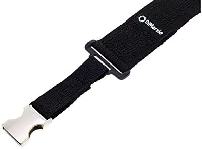 DIMARZIO dd2210bk Cliplock correa para guitarra negro w/hebillas ...