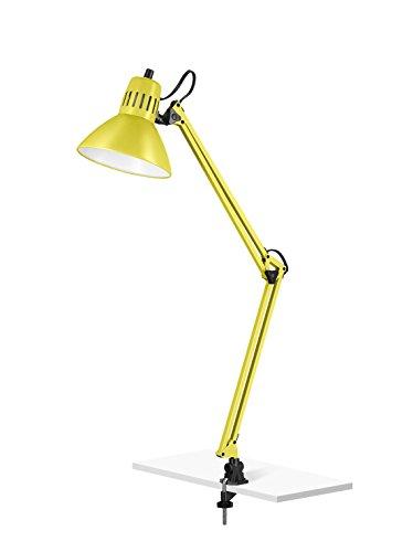 V-LIGHT Adjustable Desk Task Lamp, Yellow (EN804Y)