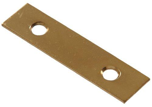 Hillman Hardware Essentials 851505 Mending Plate Bright Brass 2