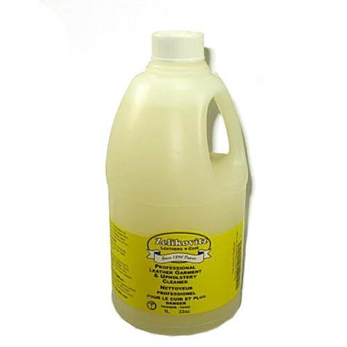 Professional Leather Garment & Upholstery Cleaner for all Smooth Leathers 32 ounce refill