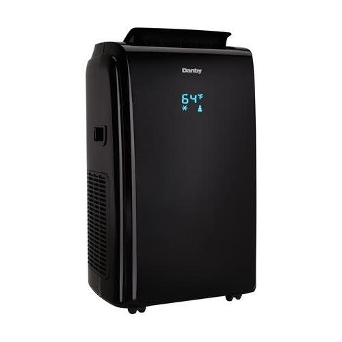Price comparison product image Danby DPA140HEAUBDB Portable Air Conditioner with 14000 BTU Cools up to 700 sq. ft. 4 in 1 Design Auto Restart 3 Speed Fan Washable Air Filter Electronic Controls With LED Display in