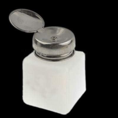 LIJIAN 100mlプッシュダウンキャストアルコールと液体コンテナボトル