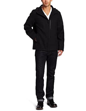 TUMI Men's Jacket, Charcoal, Medium