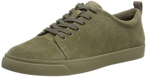 Vert Echo Femme khaki Basses Glove Sneakers Suede Clarks XzSqwv1x4
