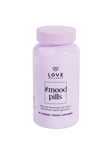 Love Wellness #Mood Pills – Helps Keep Your Mood, Happy & Relaxed – 30 Day Supply – Helps with Stress Relief & Improve…