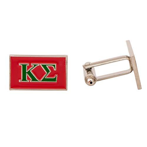 (Kappa Sigma Fraternity Letter Cufflinks Greek Formal Wear Kappa Sig)