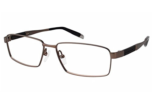 Charmant Z Eyeglasses ZT11792R ZT/11792R BR Brown Full Rim Optical Frame - Z Charmant