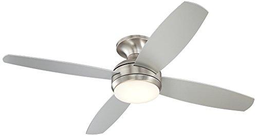 Brushed Vieja Casa Ceiling Fan - 52