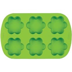 Bulk Buy: Wilton Mini Silicone Mold 6 Cavity Flower W4825 (3-Pack)