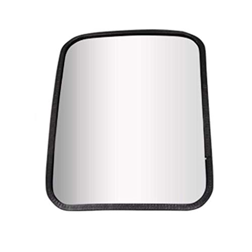(NJYT Security Mirror Rectangular Outdoor Convex Security Mirror, Rubber Edging Direction and Angle May Be Adjusted Safety Security (Size : 20x24cm))