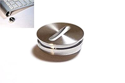Replacement Aluminium Battery Cover Cap Lid Plug for Apple imac Keyboard G6 A1314 and Magic Trackpad A1339 from LeFix