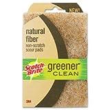 Scotch Brite Greener Clean Natural Fiber Scouring Pad