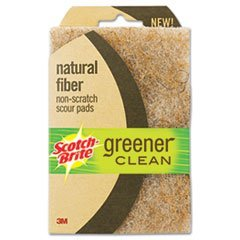 Scotch Brite Greener Clean Natural Fiber Scouring Pad