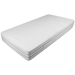 Baldiflex Easy 2.0 Memory Foam Materasso Memoria, Poliuretano, Bianco, 120 x 190 x 22 cm 10 spesavip