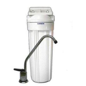 Ceramic Undercounter Water Filter With Doulton Ultracarb Cartridge by CrystalClear