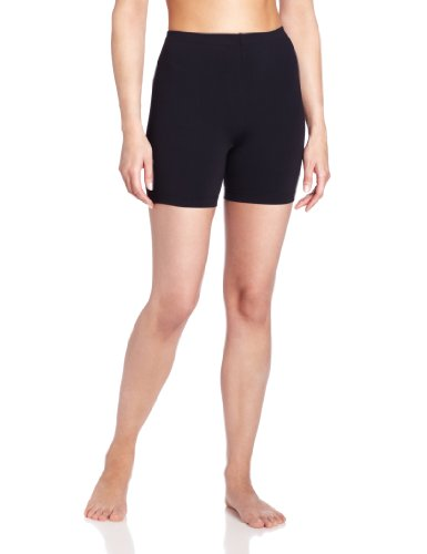 Danskin Women's Moisture Wicking Cycling 5-Inch Bike Short, Black, X-Large