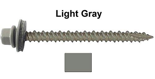 10-metal-roofing-screws-250-screws-x-2-1-2-light-gray-hex-washer-head-sheet-metal-roof-screw-self-st