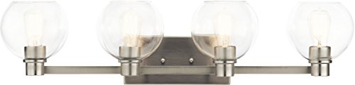 Kichler Lighting 45895NI Four Light Bath from The Harmony Collection, Brushed Nickel