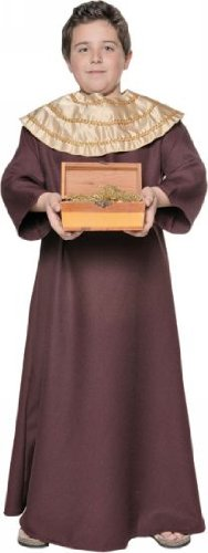 [Wiseman III Costume - Medium] (Toddler Wiseman Costume)