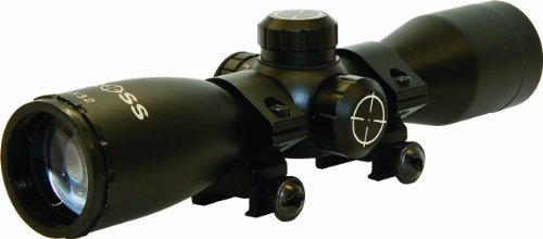 Barnett Sight - Barnett 17045 Illuminated Crossbow Scope - 3 Reticle