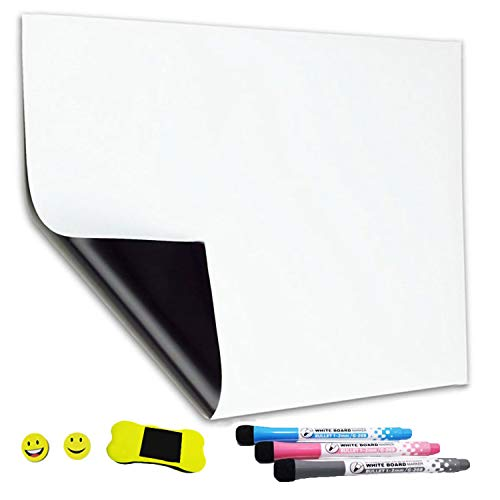 Magnetic Fridge Board Sheet for Kitchen Dry Erase Whiteboard with Stain Resistant Technology 12