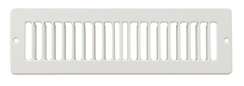 12 x 2 Toe Space Grille - HVAC Vent Cover
