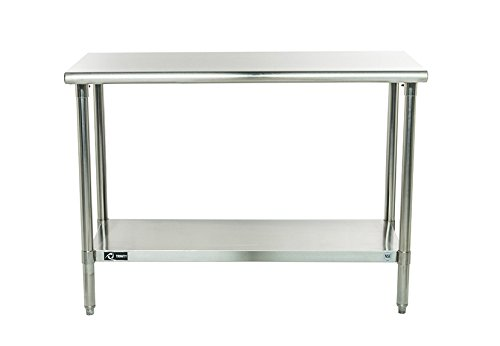 Delightful TRINITY EcoStorage NSF Stainless Steel Table, 48 Inch Part 32