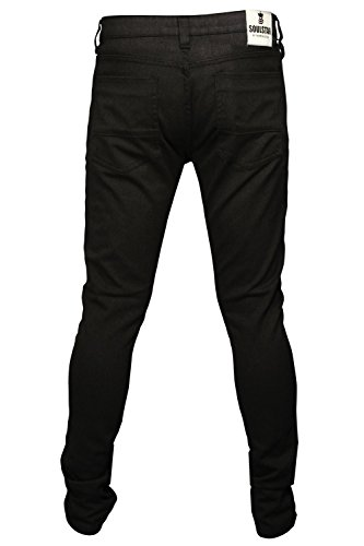 SoulStar Herren Jeanshose schwarz schwarz