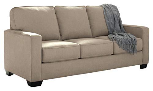 Ashley Furniture Signature Design - Zeb Contemporary Sleeper Sofa - Full Size - Quartz