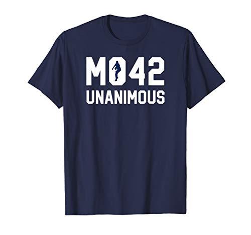 New York Bronx Baseball Fan Unanimous HOF T-Shirt (Best Catcher In Baseball History)