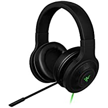 Razer Kraken USB Over Ear PC and Music Headset - Black-(Certified Refurbished) [Windows 7]