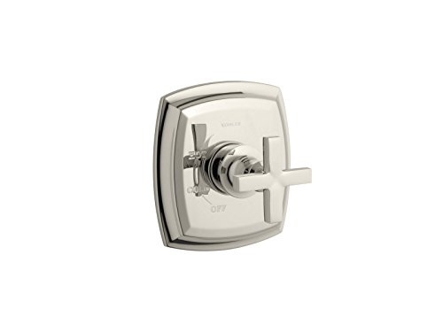 KOHLER TS16235-3-SN Margaux(R) Rite-Temp(R) Valve Trim with Cross Handle (R) (Polished Nickel Cross)