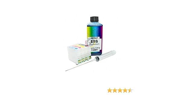 Kit de líquido para limpieza de cabezales e inyectores + cartuchos ...