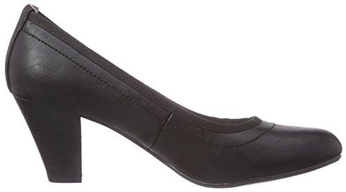 TOM TAILOR Damenschuhe Damen Pumps Schwarz (Black)