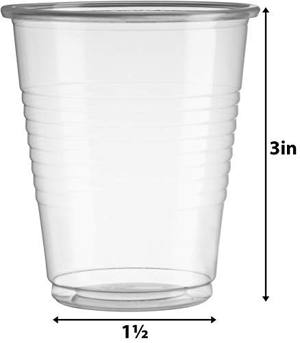 7Oz Clear Plastic Cups by Framo, For Any Occasion, BPA-Free Disposable Transparent Ice Tea, Juice, Soda, and Coffee Glasses for Party, Picnic, BBQ, Travel, and Events, (300, clear) by Framo (Image #3)