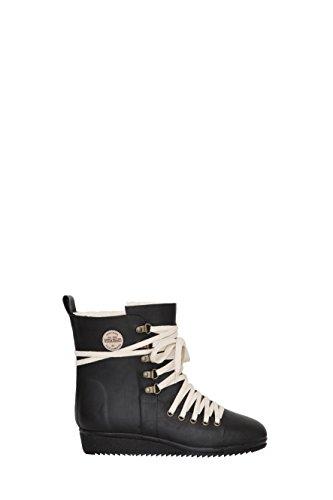 Lace up Nokian Black Shoe Footwear Schwarz Gummistiefelette FqcHvZw