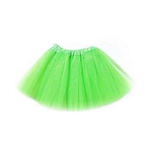 DDGE DMMS - Ballet Verde Lima para niña, 3 Capas de Tul, Talla 1 ...