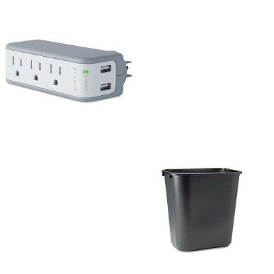 KITBLKBZ103050TVLRCP295600BK - Value Kit - Belkin Mini Surge