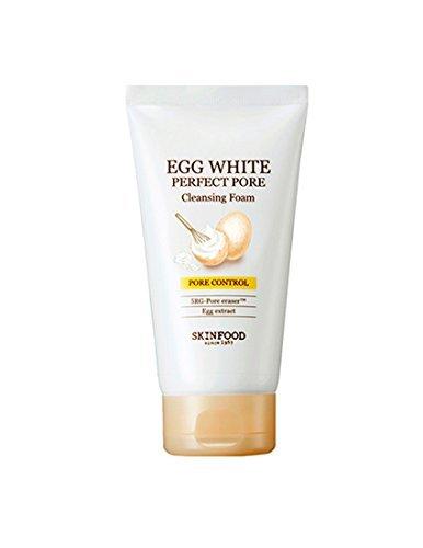 New [Skinfood] Egg White Perfect Pore Cleansing Foam, 150ml/5.07oz
