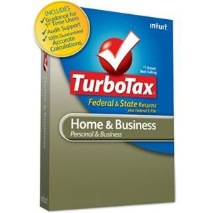 Price comparison product image New - TurboTax Home & Business 2011 by Intuit - 417415