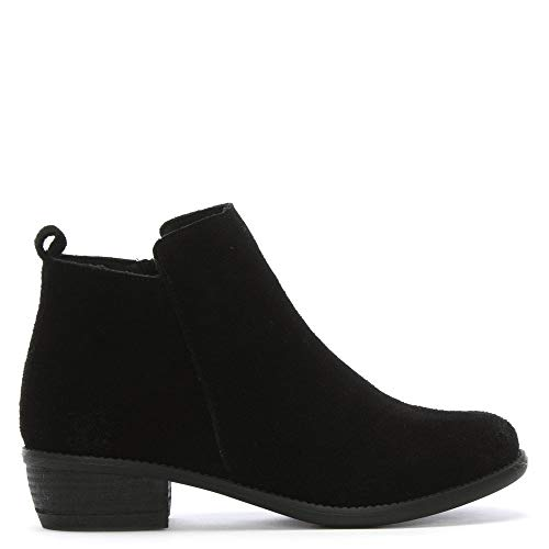 By Ankle DF Black Black Mayland Boots Daniel Suede Suede Stacked Heel dxSSqy0Pwr