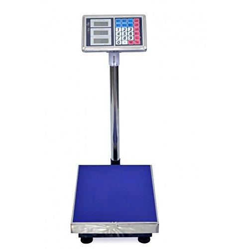 Agoora - Bascula Industrial De Plataforma 30x40Cm pesa hasta 150Kg - AG/DPS-150: Amazon.es: Bricolaje y herramientas