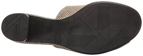 Beautifeel Donna Raine Mule Avorio / Nero Mesh Pr