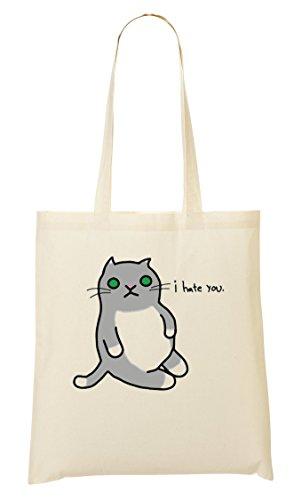 À Hate Sac Tout Provisions Funny Fourre I Cat Sac You 8IqdFF